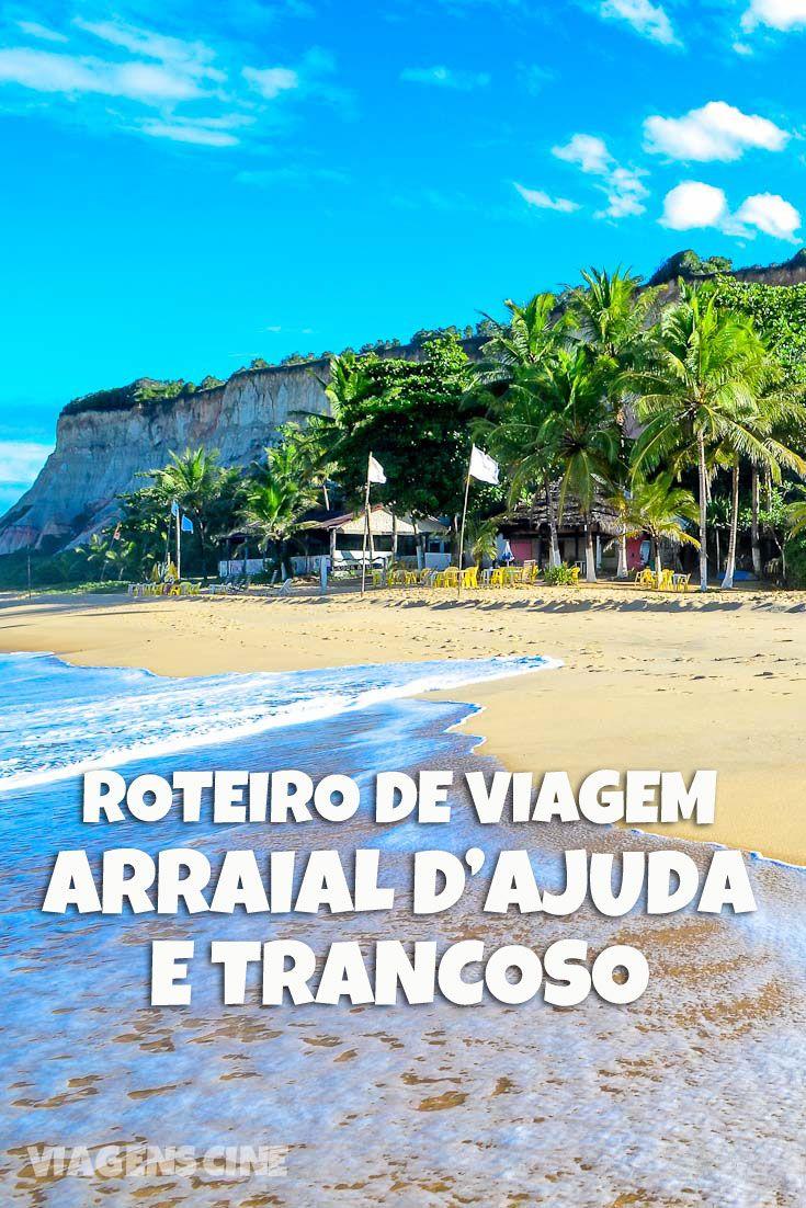 Em Porto de Seguro, na Costa do Descobrimento da Bahia, conciliar Arraial d'Ajuda e Trancoso na mesma viagem é um dos roteiros de viagem mais legais para se fazer. Que tal fazer uma caminhada entre as duas localidades? Confira no blog