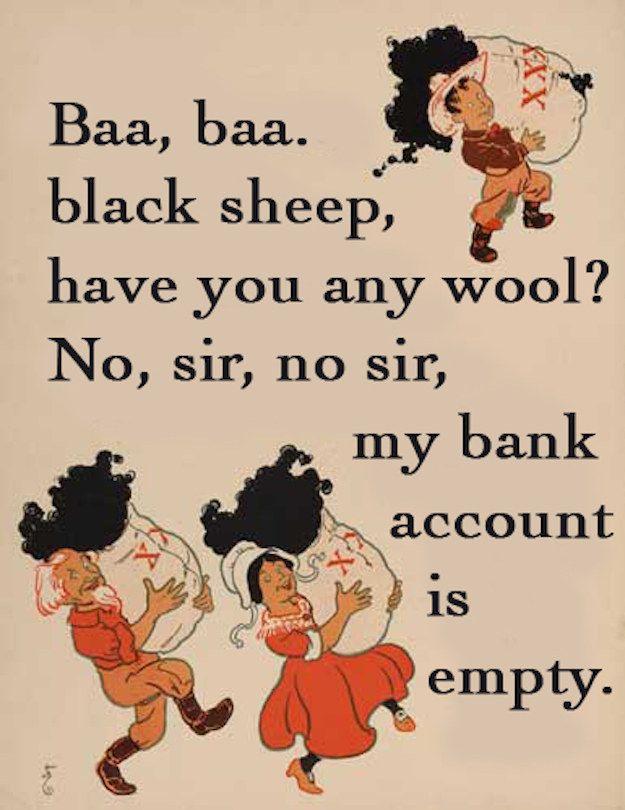 Barbar black sheep