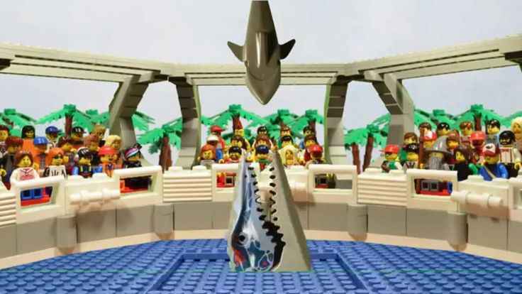 LEGO Jurassic World attractions