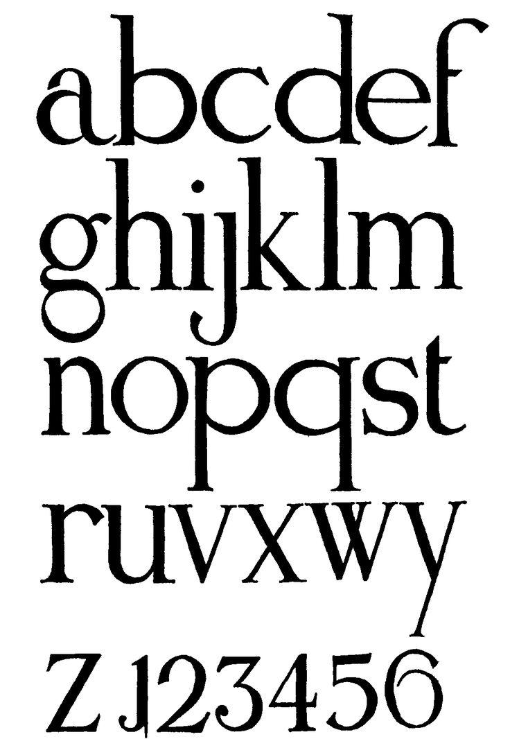International Movement Writing Alphabet
