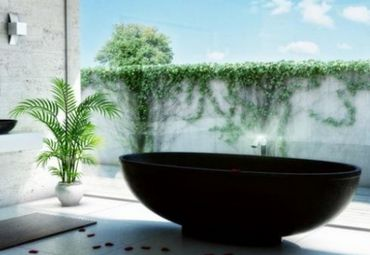 Plants Add some life to your bathroom, literally. A couple of plants in the bathroom can create a relaxing, serene environment.