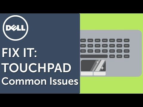 how to change dell touchpad settings