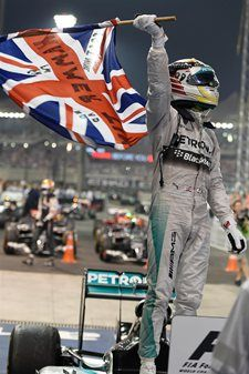 Congratulations to two-time Formula One World Champion, Lewis Hamilton!