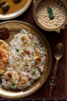biryani rice or biryani chawal - aromatic rich recipe