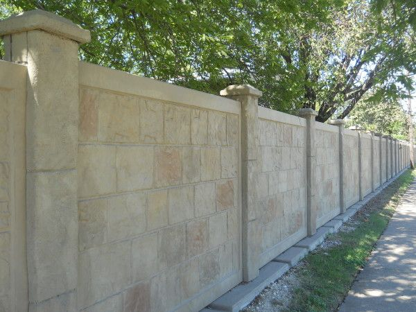What Is Precast Concrete Fence Fence Wall Design Concrete Fence Wall Concrete Fence