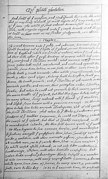 Of plymouth plantation chapter 9 essay