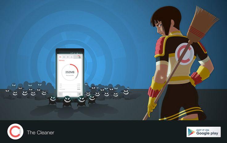 The Cleaner libera espacio y hace más rápido tu Android - http://webadictos.com/2015/07/15/the-cleaner-liberar-espacio-android/?utm_source=PN&utm_medium=Pinterest&utm_campaign=PN%2Bposts