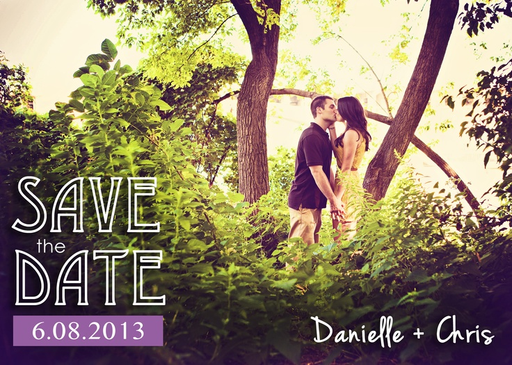 how cute is this save the date?! #WeddingPhotographerMinnesota