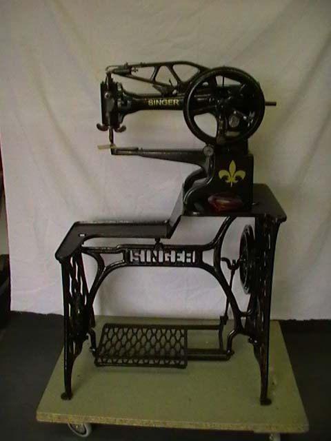 29K Singer Sewing Machine Leather Shoemaker by AFinlayCrafts