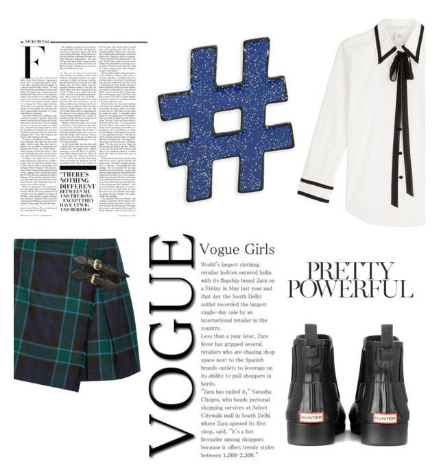 """""""Untitled"""" by mickeyjcheese ❤ liked on Polyvore featuring Burberry, Marc Jacobs, Design Lab, Hunter and Nicki Minaj"""