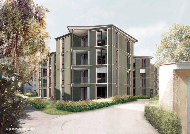 Wettsteinquartier - Basel - Switzerland - Jessen Vollenweider Architekten - 2014-18