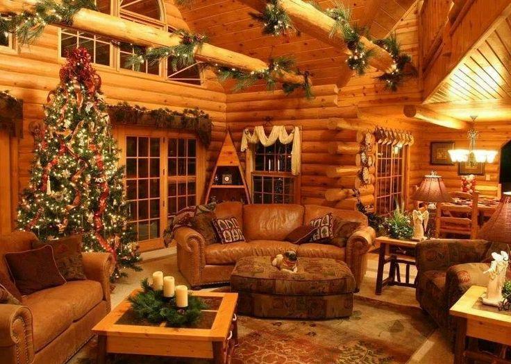 Cozy Christmas living room | christmas decor | Pinterest