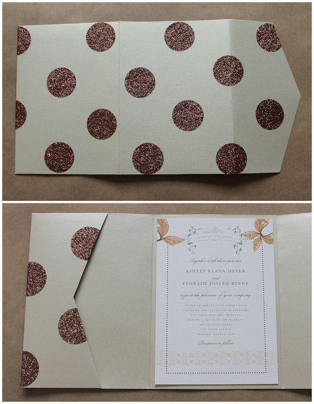 DIY Glitter Tape on Wedding Paper Divas