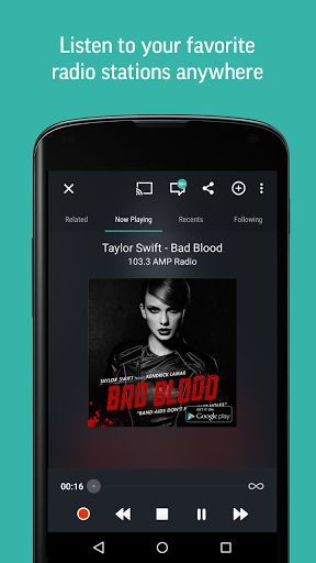 TuneIn Radio Pro - Live Radio v16.1.1 (Paid All Versions)   TuneIn Radio Pro - Live Radio v16.1.1 (Paid All Versions)Requirements:4.0Overview:Browse and listen to radio -- live local and global.  Description Listen to the worlds largest collection of radio stations on your phone or tablet absolutely free. TuneIn has all of the best sports news music and talk radio as well as live events and top podcasts. Stream over 100000 real radio stations playing live from around the world. TuneIn Radio…