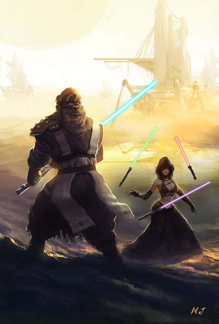 Star Wars - Jedi by Njay *