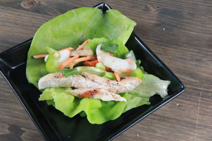 Thai Chicken Lettuce Wraps These Thai Chicken Lettuce Wraps are on the menu at one of my favorite local restaurants, Tav on the Ave.  An order is $11 a pop.  However, they're really easy to m…