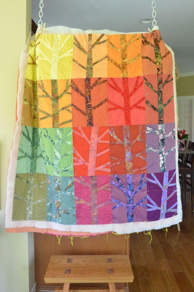 45 besten Quilt Trees Bilder auf Pinterest   Weihnachten, Baum ...