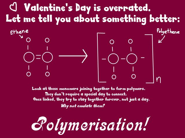 Großartig For Your Crush In Chemistry Class. I Felt Like Making A Geeky Joke Valentine.  To Be Honest, I Feel The Holiday Is A Little Overrated;