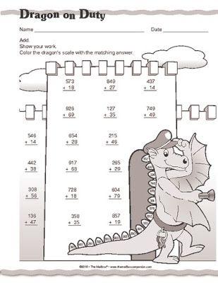 Játékos tanulás és kreativitás: Írásbeli összeadás, kivonás gyakorlása feladatlapokkal