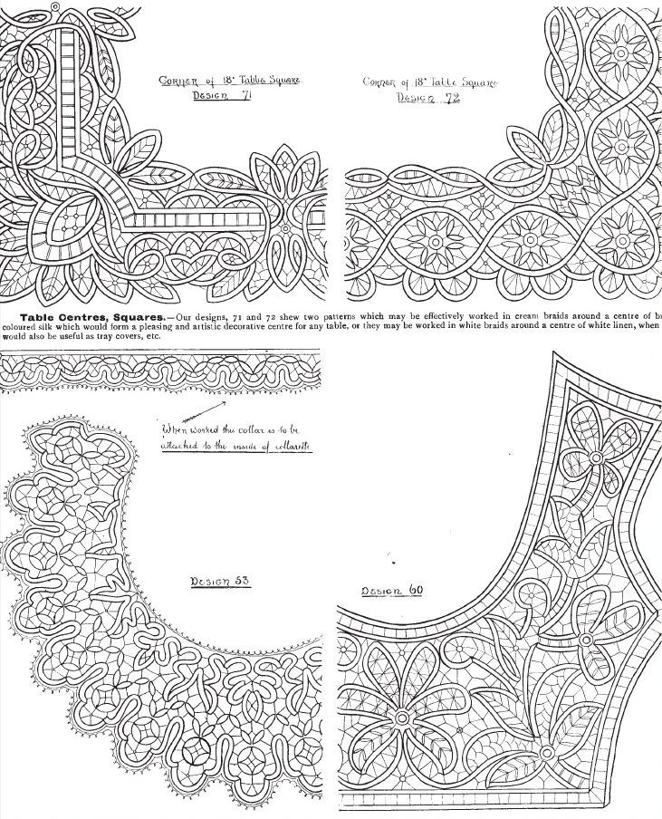 Romanian Point Lace patterns