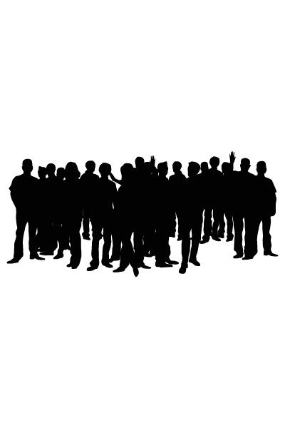 Audience Vector Image #hollywood #vector #movie #audience http://www.vectorvice.com/hollywood-vector-pack