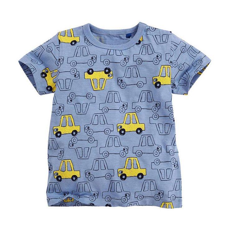 Anak-anak T shirt Anak Laki-laki T-shirt Bayi Pakaian Anak Kecil Musim Panas Kemeja Tees Designer Cotton Kartun Pakaian 1-6Y