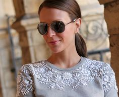 Penny Pincher Fashion: Pleated & Embellished