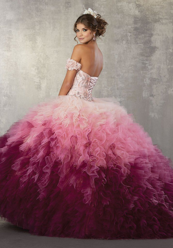 f6cee179988 Strapless Ombre Quinceanera Dress by Mori Lee Vizcaya 89161-Quinceanera  Dresses-ABC Fashion