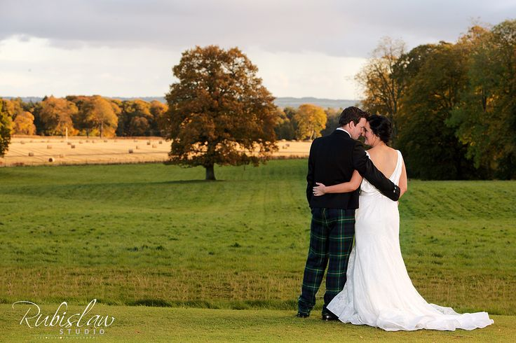Jen and Tom and the beautiful Scottish countryside at Fasque Castle. #aberdeenwedding #aberdeenweddingphotographer #aberdeenweddingphotographers #aberdeenweddingphotography #scottishweddingphotographer #fasquecastle #weddingatfasquecastle