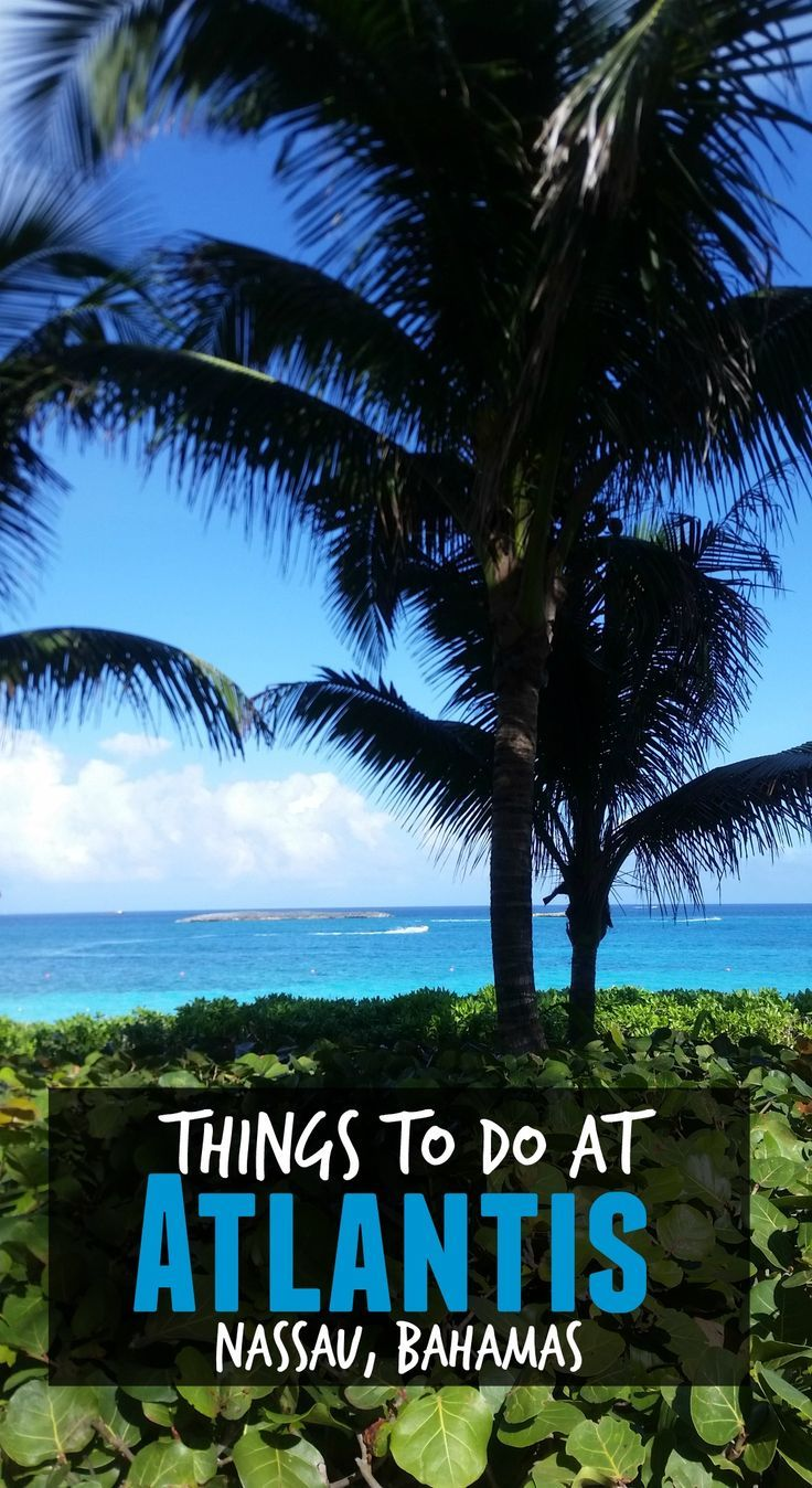 Things To Do At Atlantis Nassau Bahamas Caribbean Pinterest Atlantis Travel And Nassau