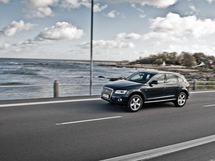Audi Q5 Suv in motion #audi #q5 #motion more: http://premiummoto.pl/12/26/audi-q5-na-bornholmie-nasza-sesja