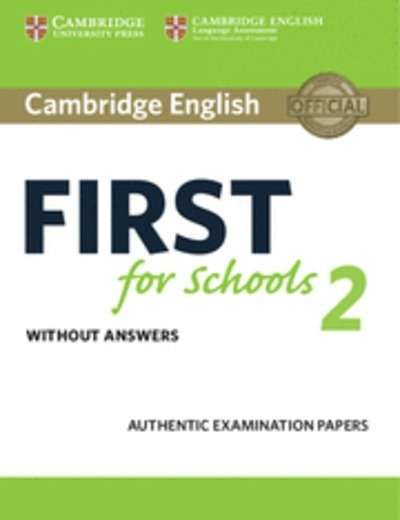 Ideal Cambridge English First FCES for Schools Student us Book without Answers Examination