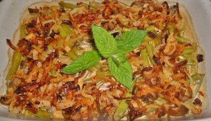 Griekse Sperziebonen En Champignons In Romig Saus recept | Smulweb.nl