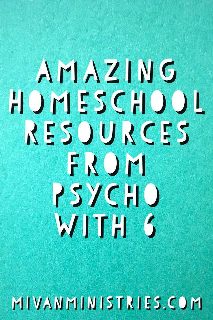 """I just love that name, don't you? Psycho With 6? I think we can all say that we feel a bit """"psycho"""" at times! The name Psycho With 6, however, refers to Dr. Melanie Wilson, a homeschool psychologist turned homeschooling mother of 6. (That could make anyone a little bit psycho at first, don't you …"""