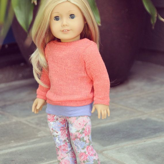 American Girl Clothes  Coral & Violet by LoriLizGirlsandDolls, $28.00