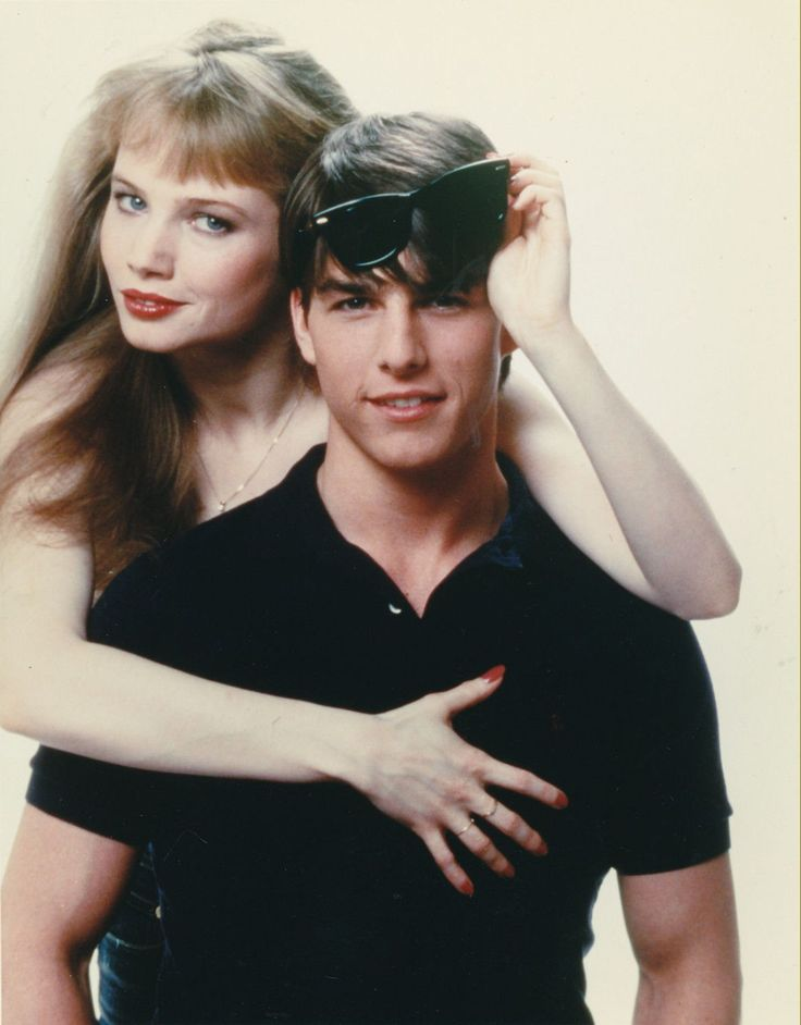 Rebecca De Mornay and Tom Cruise in Risky Business 1983