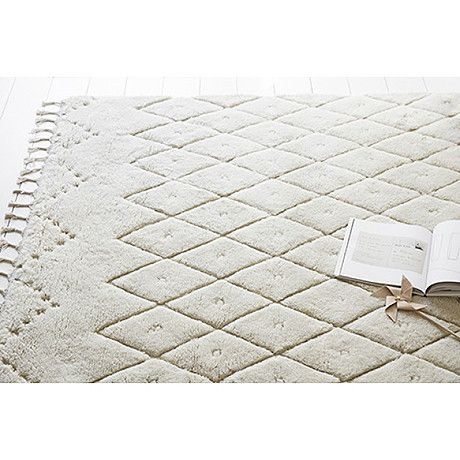 FLOOR RUG | etched berber wool by Olli Ella