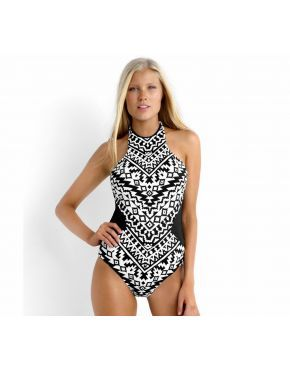 Kasbah High Neck Maillot
