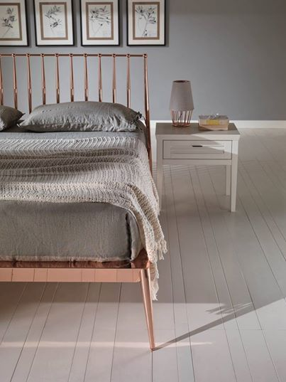 Copper is the new Chrome! Urbino bed by Cantori, Italy