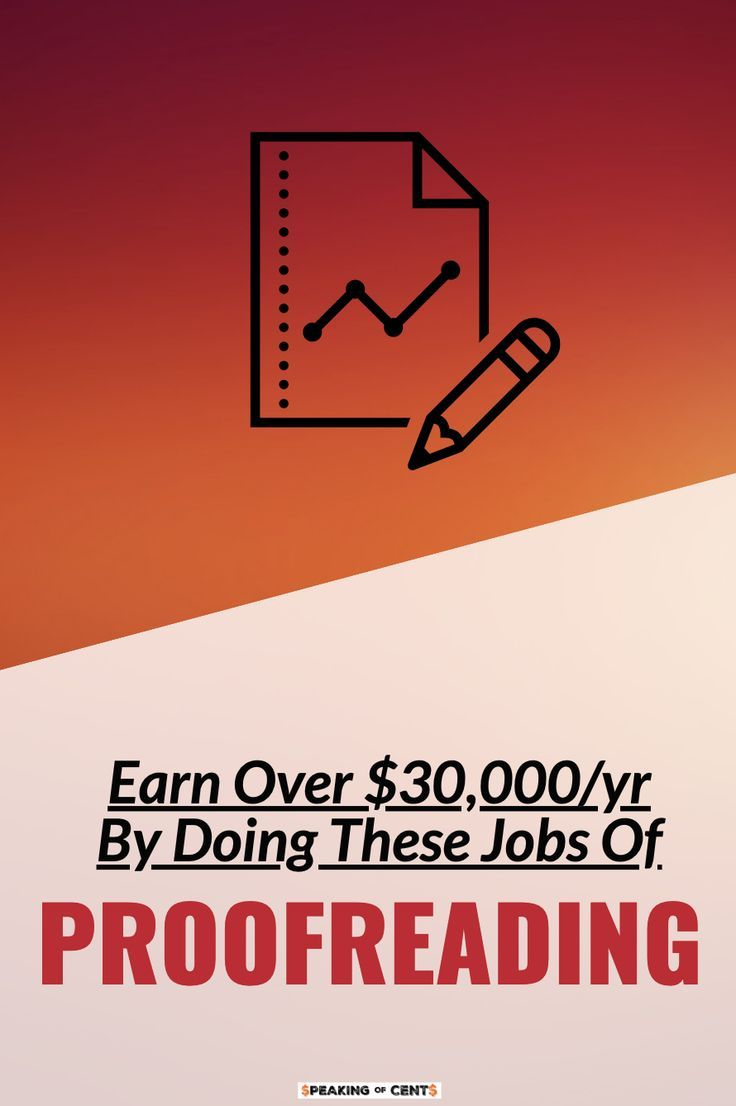 Earn Over $30,000/yr As A Proofreader While You Stay At Home