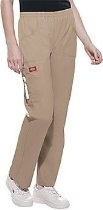Dickies Soft Works Missy Fit Elastic Waist Scrub Pant-Regular, Plus, Petites and Talls