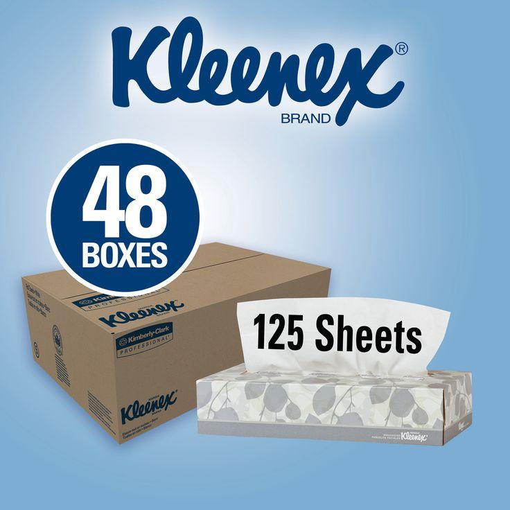 Kleenex Facial Tissues 2-Ply White 48ct