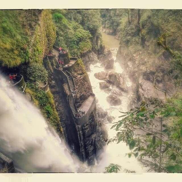 Paylón del diablo #Baños #Ecuador #Travel