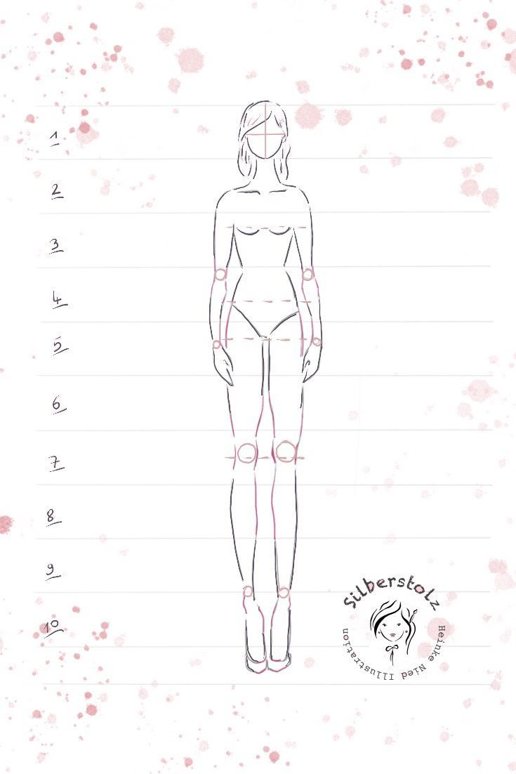 10 steps to draw a female figure! Learn to draw a female figure! M …  #female …