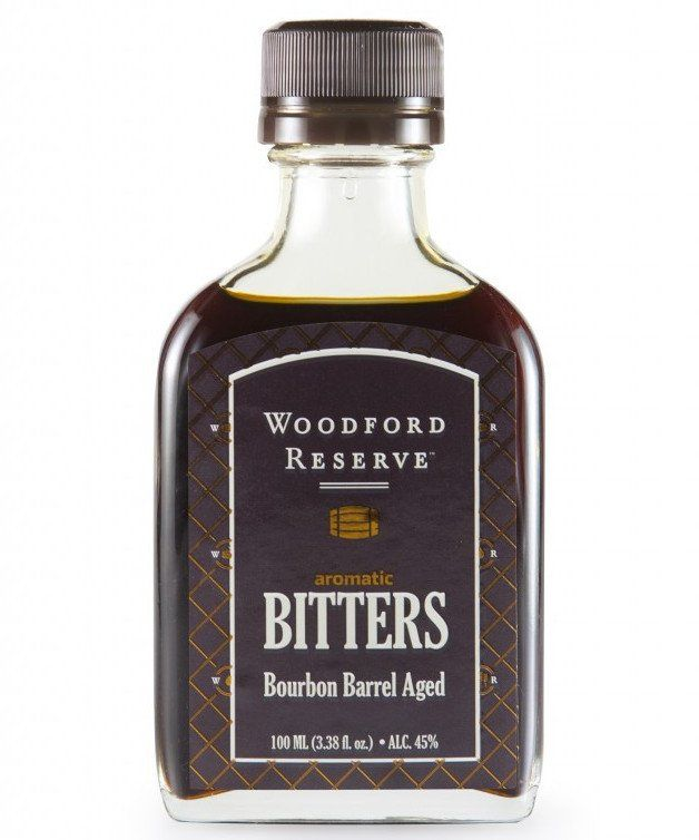 Woodford Reserve Aromatic Bitters - Bourbon Barrel Aged.  The very best bitters for an Old Fashioned.