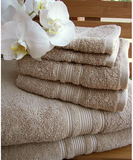Linens for master bathroom
