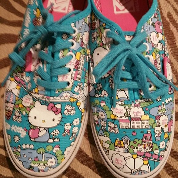 Hello Kitty Vans New without the box. Hello Kitty vans. Woman's size 8 mens size 6.5. Never worn. Vans Shoes Sneakers