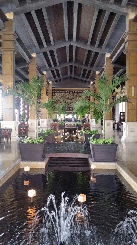 Fabulous lobby Dreams Riviera Mexico