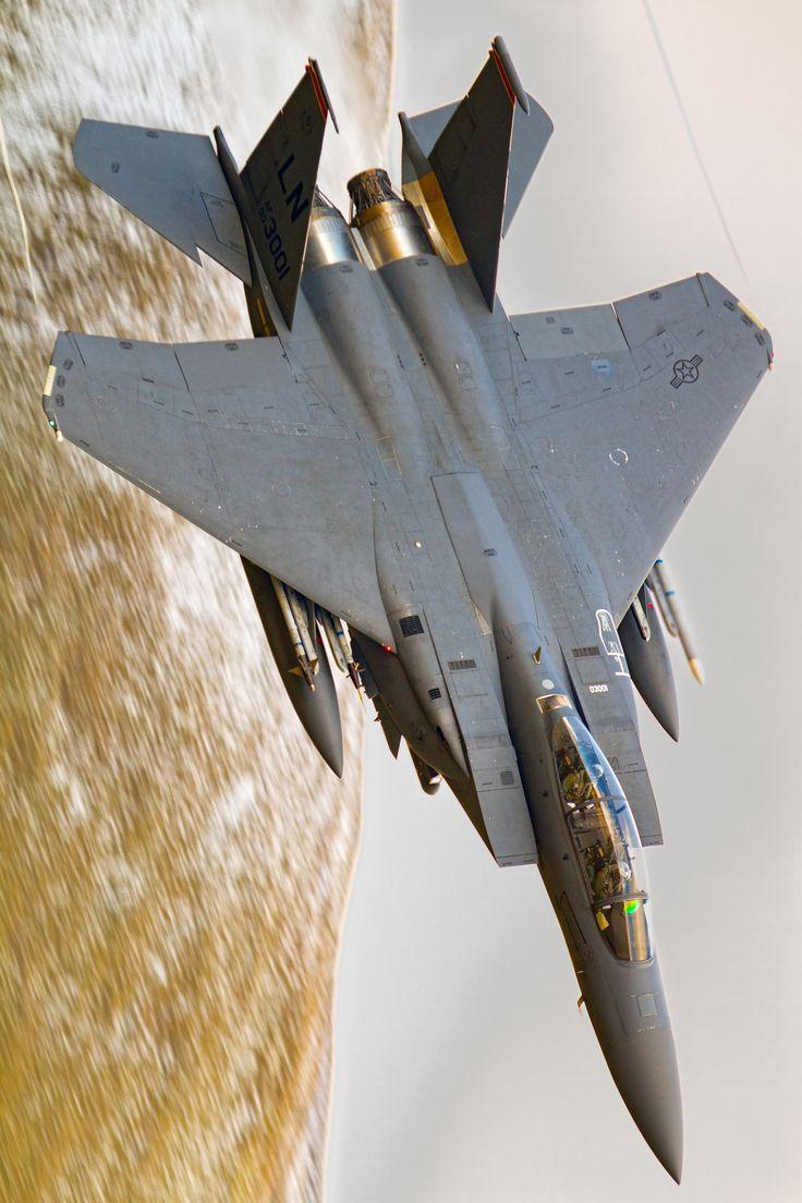 "eyestothe-skies: "" F-15E Strike Eagle """
