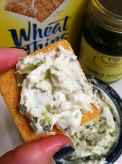 Candied Jalapeno Spread! --A slightly addictive and deliciously sweet-heat football food!  centerofthepie.blogspot.com